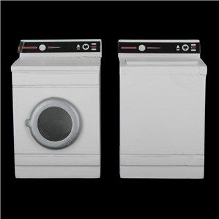 Mayberry Street Miniature White Dollhouse Washer U0026 Dryer Set | Shop Hobby  Lobby