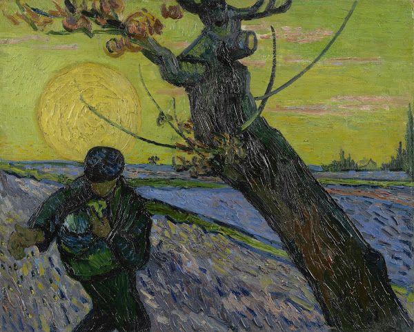The Sower, 1888, Vincent van Gogh, Van Gogh Museum, Amsterdam (Vincent van Gogh Foundation)