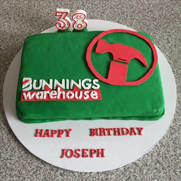 Bunnings birthday cake I made for my husband