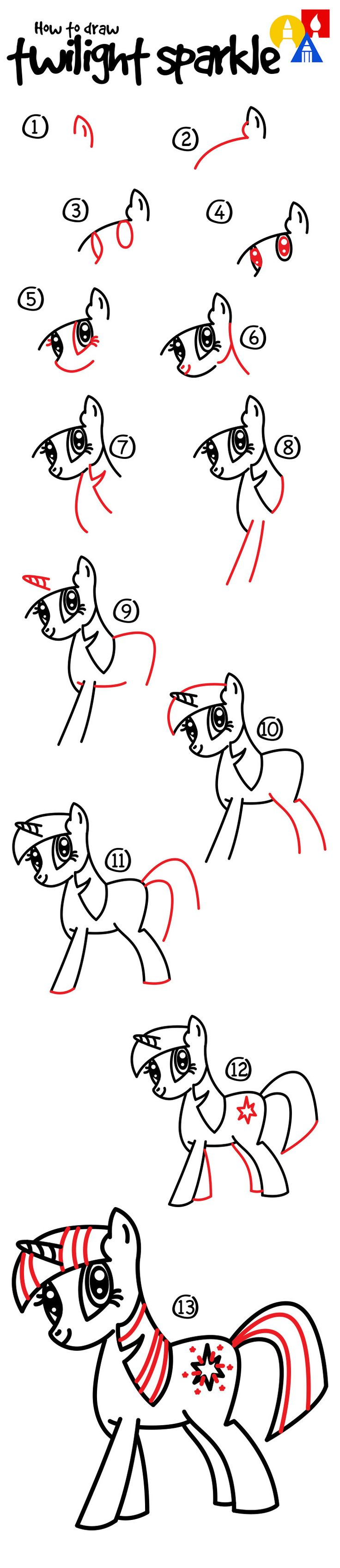 Comment dessiner Crépuscule étincelle.