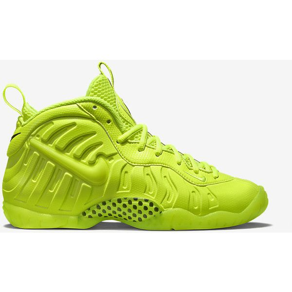 Nike Air Foamposite Pro Premium LE ($180) ❤ liked on Polyvore featuring shoes, nike, nike shoes and nike footwear