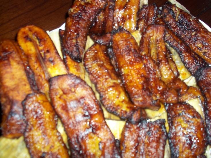 Salvadoran Fried Plantains Platanos Fritos Salvadorenos