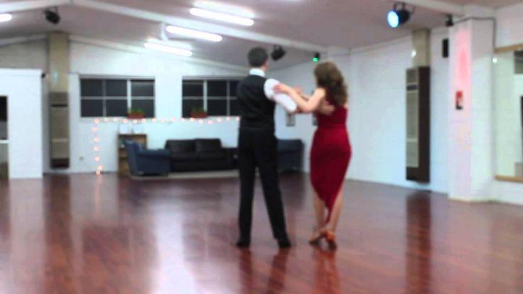 10 May 2014 - Rumba, Latin Bronze Medal, dancing with teacher Tom Cavin