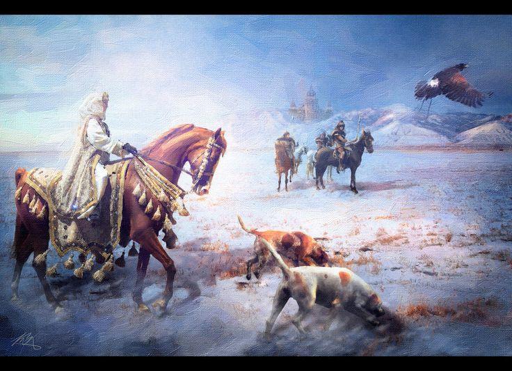 Asher Royce ★ Lord de Roche aux runes [DELAI] 024ca00c3977e7bf972c971266f5669f--royal-hunt-art-fox
