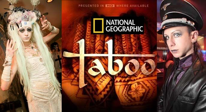 """La Carmina's National Geographic """"Taboo"""" episode is airing next weekend! (Sunday, September 23 at 10pm ET on Nat Geo.) More: http://www.lacarmina.com/blog/2012/09/national-geographic-taboo-bagel-heads-saline-forehead-inflation-bagelhead-fashion-blogger-ny-fashion-week/"""