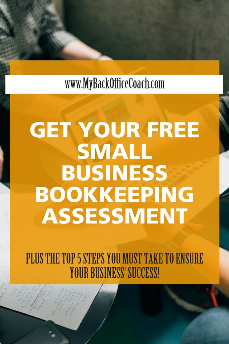 Get your free small business bookkeeping assessment