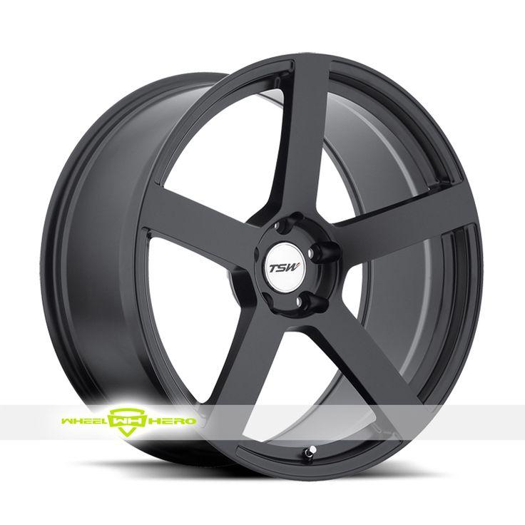 TSW PANORAMA Black Wheels For Sale - For more info: http://www.wheelhero.com/customwheels/TSW/PANORAMA-Black