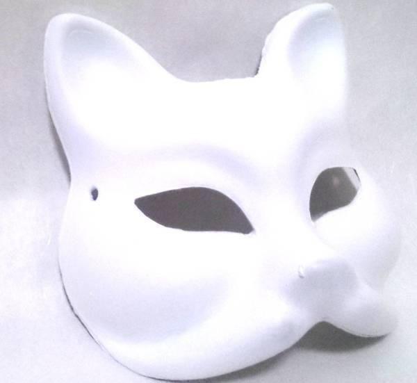 ◇新品 狐キツネ お面マスク10枚セット コスプレ小道具 仮面仮装
