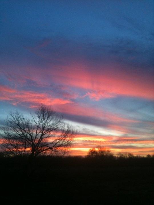Collingwood, Ontario sunset