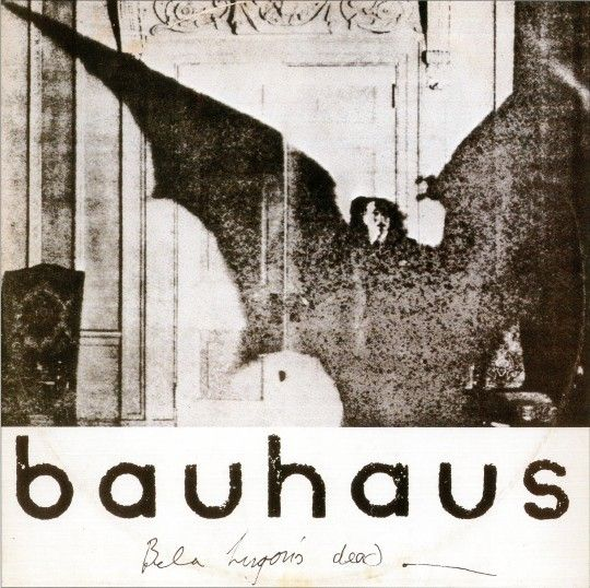 Terrifying Bauhaus...the band...but still.