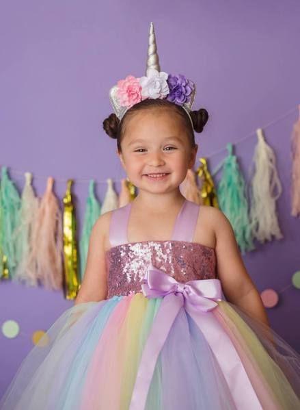 d1630af71cc3 Unicorn Tutu, Unicorn Birthday Dress, Girls Unicorn Costume, Unicorn P | Little  Ladybug Tutus
