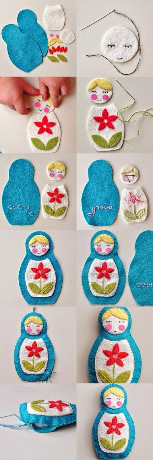 Hobi, tasarım, yağlı boya tablo: Keçe matruşka bebek nasıl yapılır?