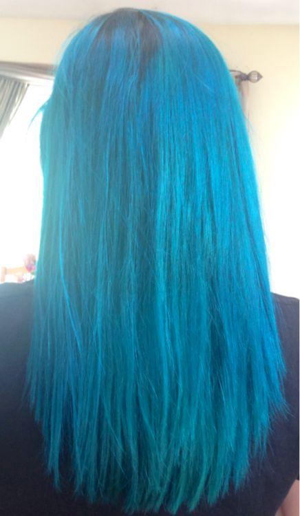 manic panic voodoo blue. follow my hair blog on tumblr at rainbow-hair-blog.tumblr.com