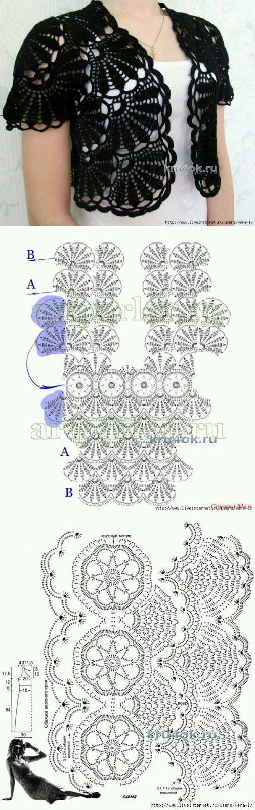 59 best Patrones images on Pinterest   Crochet patterns, Crochet ...