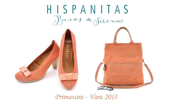 Hispanitas Coral Shoes and Handbag