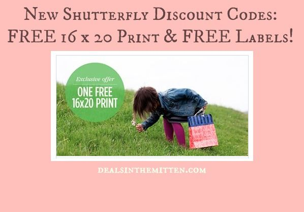 New Shutterfly Discount Codes!