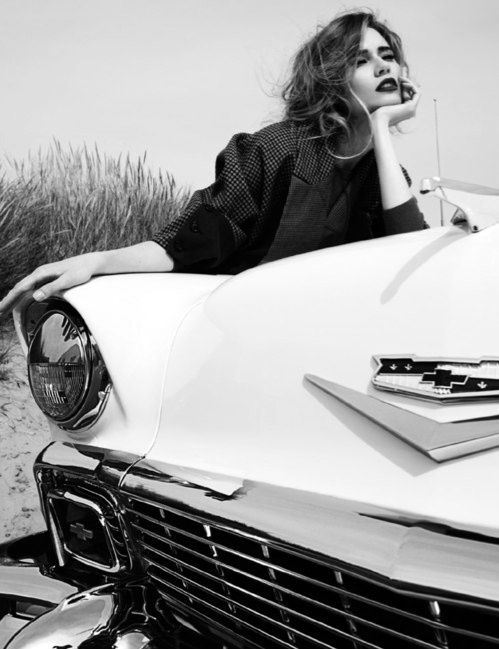 Old school car photo shoot