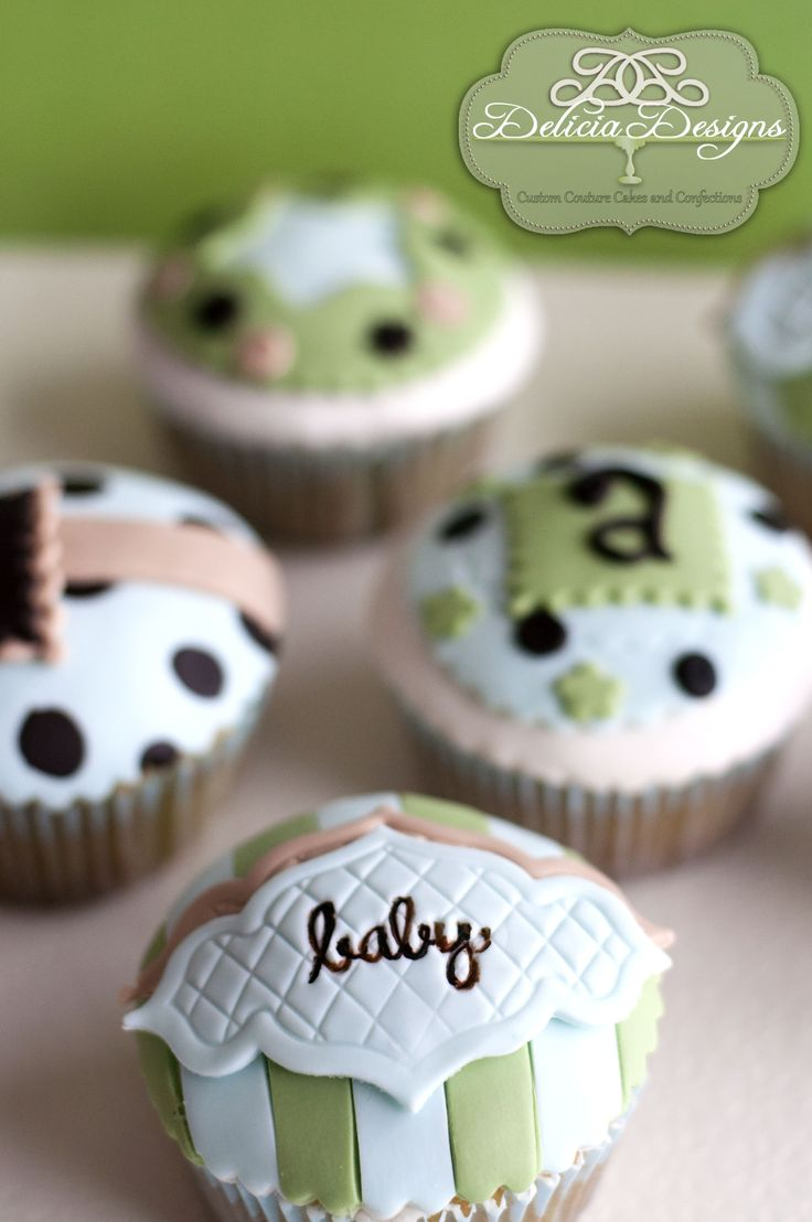 Icing Recipes-- Baby Boy Cupcakes - baby shower cupcakes - Cupcakes #baby shower #cupcakes