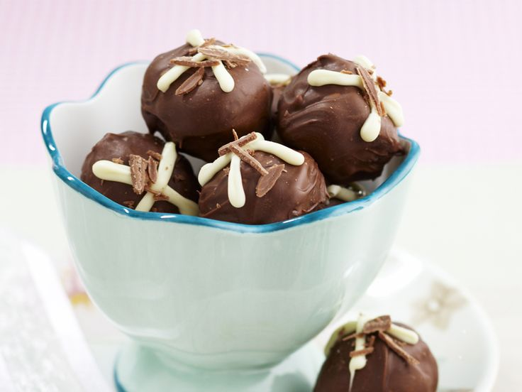 Using good quality dark chocolate is what makes these truffles special. Making them as a gift? You can buy small paper or foil truffle cases from the cake-making section of the supermarket or homeware stores.