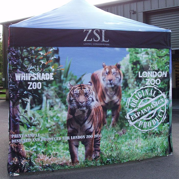 Branded Gazebos - Expand A Sign