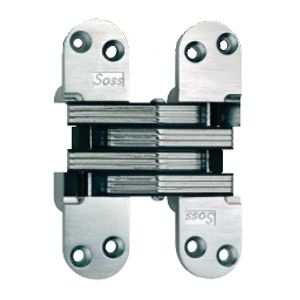 Soss #218 Invisible Hinge Satin Nickel 218US15    17% OFF Order Today! Shop and Save @ CabinetParts.com