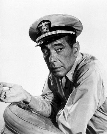 Humphrey Bogart in The Caine Mutiny {1954}