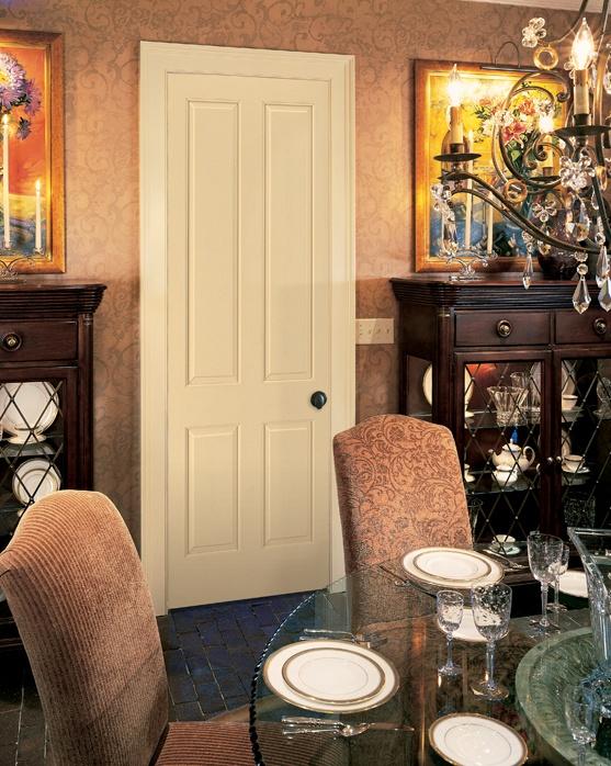 4 Panel Interior Door By HomeStory Doors