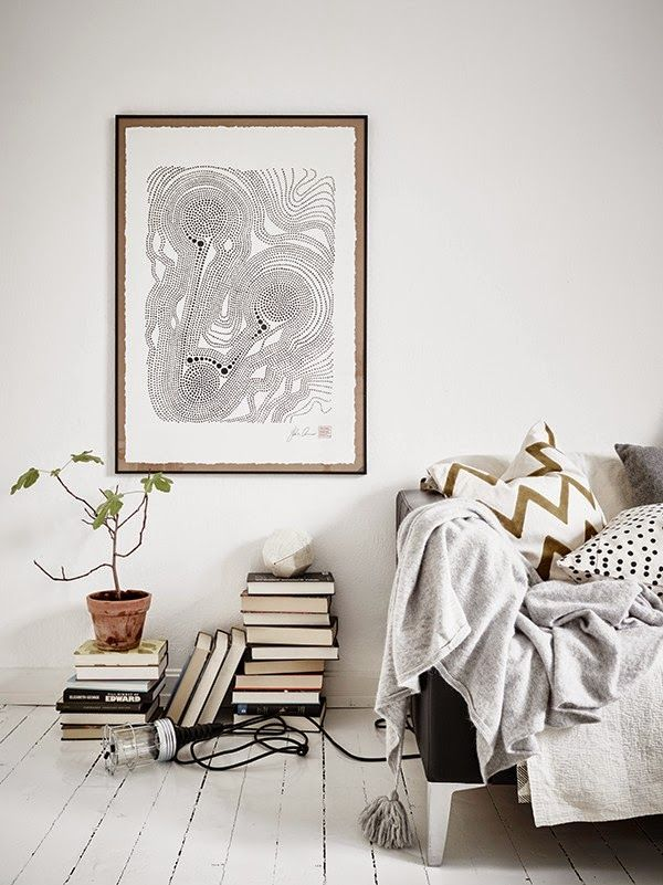 Small space inspiration in monochrome