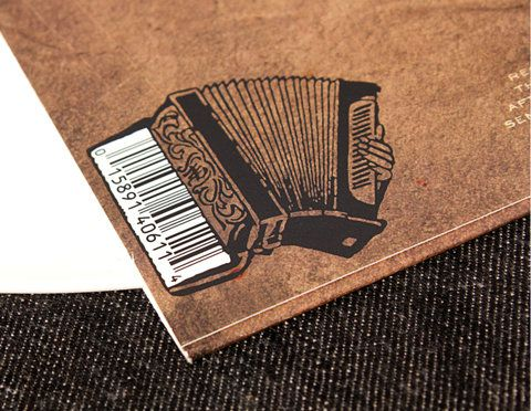 Black Prairie album, bar codeMusic Packaging, Art Covers, Codes Barre, Graphics Design, Black Prairie, Album Covers Design, Bar Codes, Album Art, Prairie Album