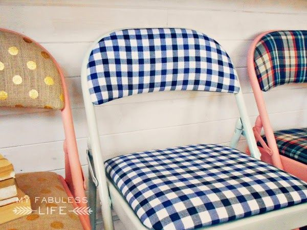 I Need To Buy Some Upholstered Folding Chairs So I Can Reupholster And  Repaint Them!