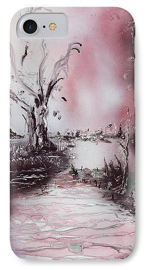 Printed with Fine Art spray painting image Porcelain River by Nandor Molnar (When you visit the Shop, change the orientation, background color and image size as you wish)