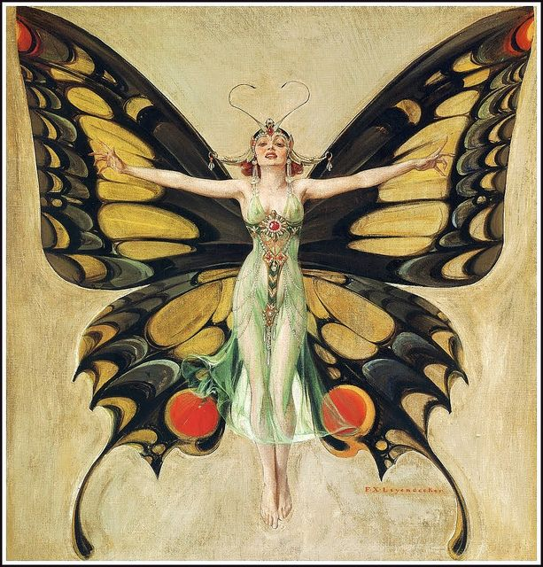 "F. X. Leyendecker ""The Flapper"" 1922 by Art & Vintage, via Flickr"