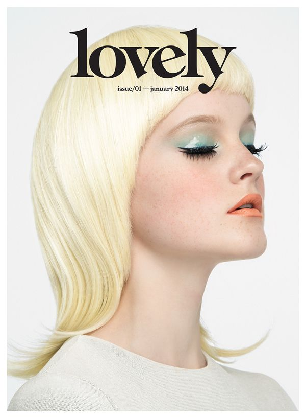 LOVELY THE MAG ISSUE#1 by PABLO ABAD, via Behance
