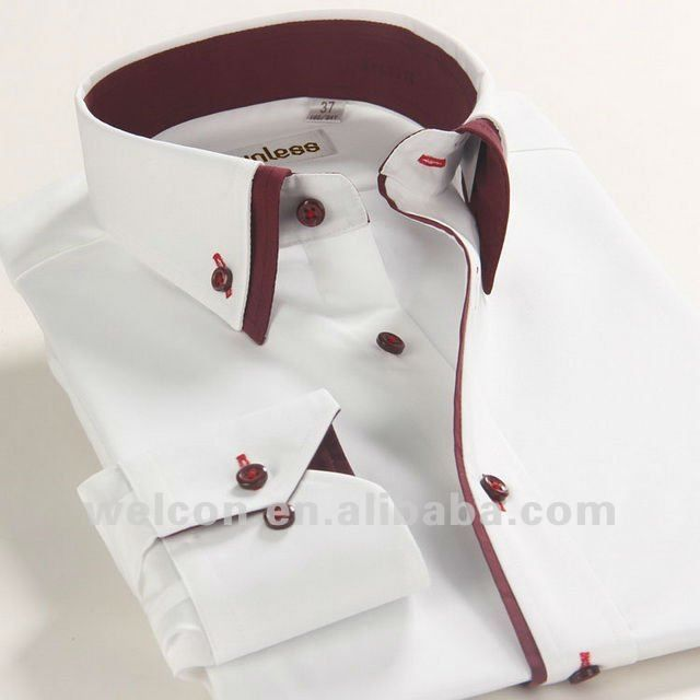 100% cotton stylish Italian style long sleeve latest design fashion business dress white men's brand shirt, View brand shirt, unless Product Details from Shaoxing Welcon Imp. & Exp. Co., Ltd. on Alibaba.com