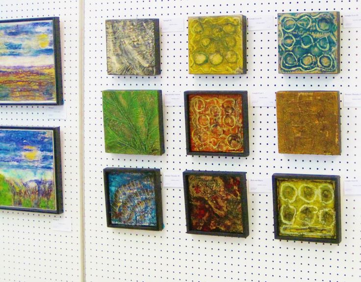24 new encaustic (wax) paintings