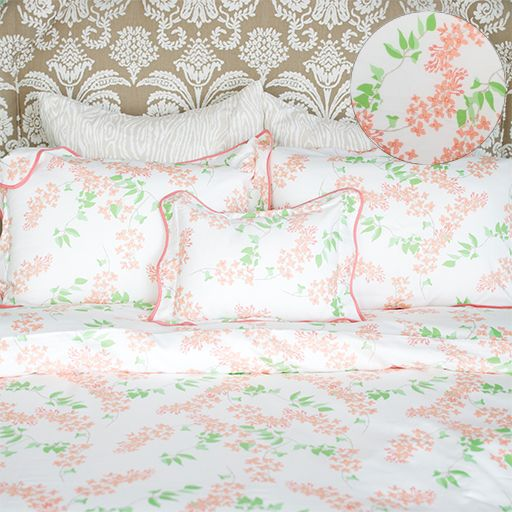 Fiona Duvet Coral : Biscuit Home
