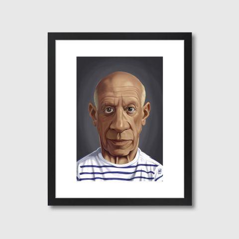 Celebrity Sunday - Pablo Picasso | Monde Mosaic art | decor | wall art | inspiration | caricatures | home decor | idea | humor | gifts