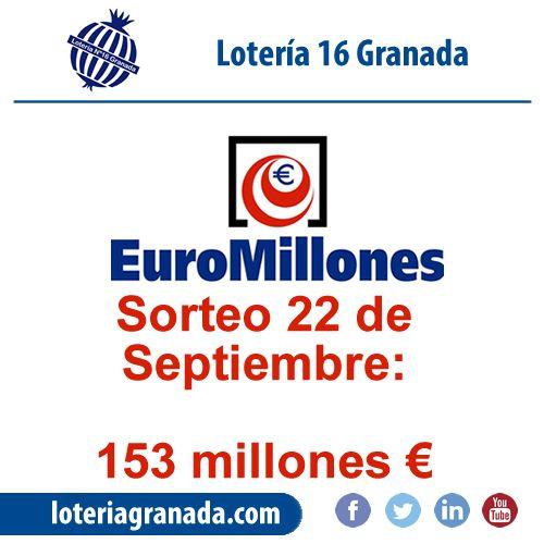 Ojú no quieres ser millonario?? 153 millones del euromillon te están esperando en   ➡http://qoo.ly/hwtvb⬅