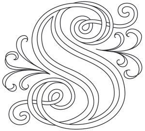 letter perfect letter s design uth7610 from urbanthreadscom