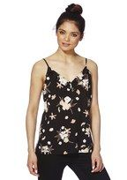 F&F Floral Print Ruffle Detail Camisole at F&F