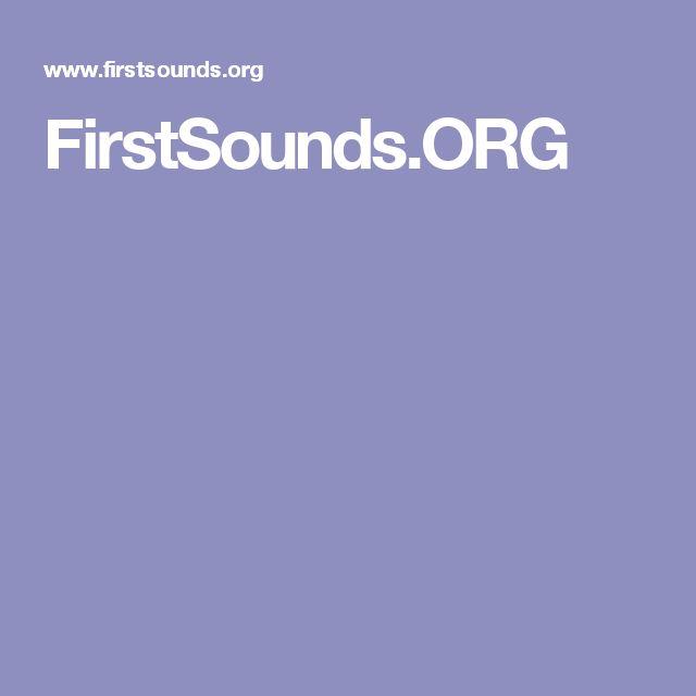 FirstSounds.ORG