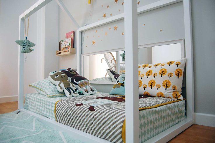 Habitación infantil Montessori Mint y Mostaza - Toc Toc Infantil