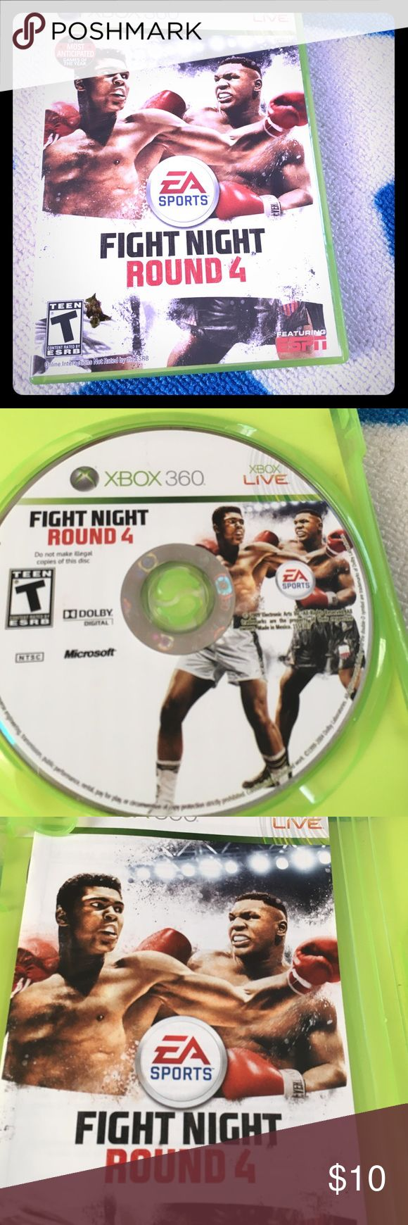 Selling this Fight night round 4 Xbox 360 on Poshmark! My username is: icesis22. #shopmycloset #poshmark #fashion #shopping #style #forsale #Xbox 360 #Other