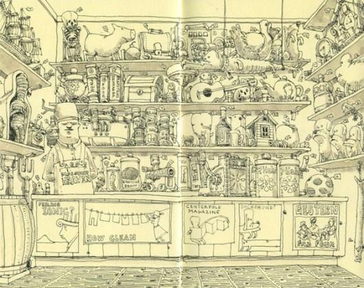toysArtists, Doodles, Moleskine, Illustration, Sketches, Journals Sketchbooks, Simple Drawing, Mattia Adolfsson, My Style