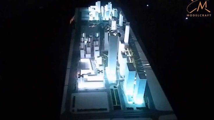 Wave City Center Noida Lightshow Model