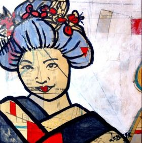 This Artwork is a part of my geisha series.