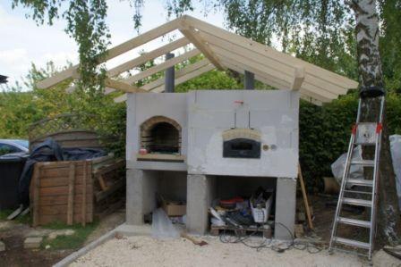 Steinbackofenbau Pizzaofen Garten Holzbackofen Steinbackofen