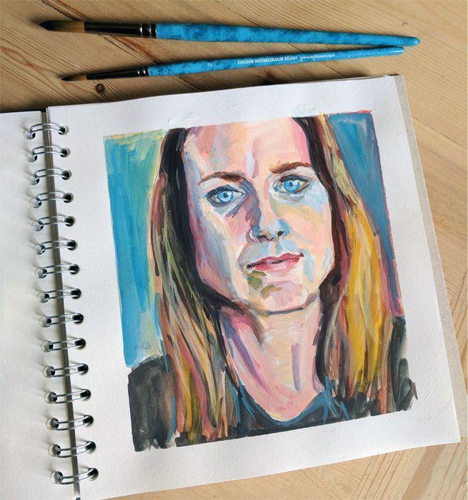 Portfolio: People, Faces and Portrait Illustrations