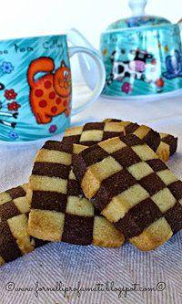 Biscotti a Scacchi, per una colazione divertente