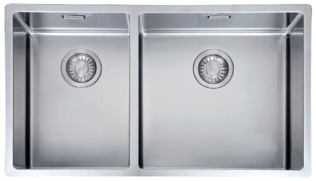 Franke Bolero 1 And 3 4 Bowl Sink Box220 42 29 Bowl Sink Sink Stainless Steel Sinks